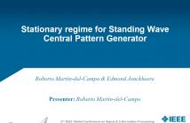 Cover page Standing Wave CPG Roberto