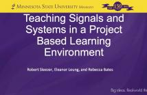 Signal Processing Education   SigPort