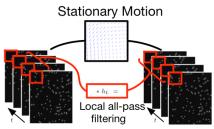 Stationary Motion Estimation